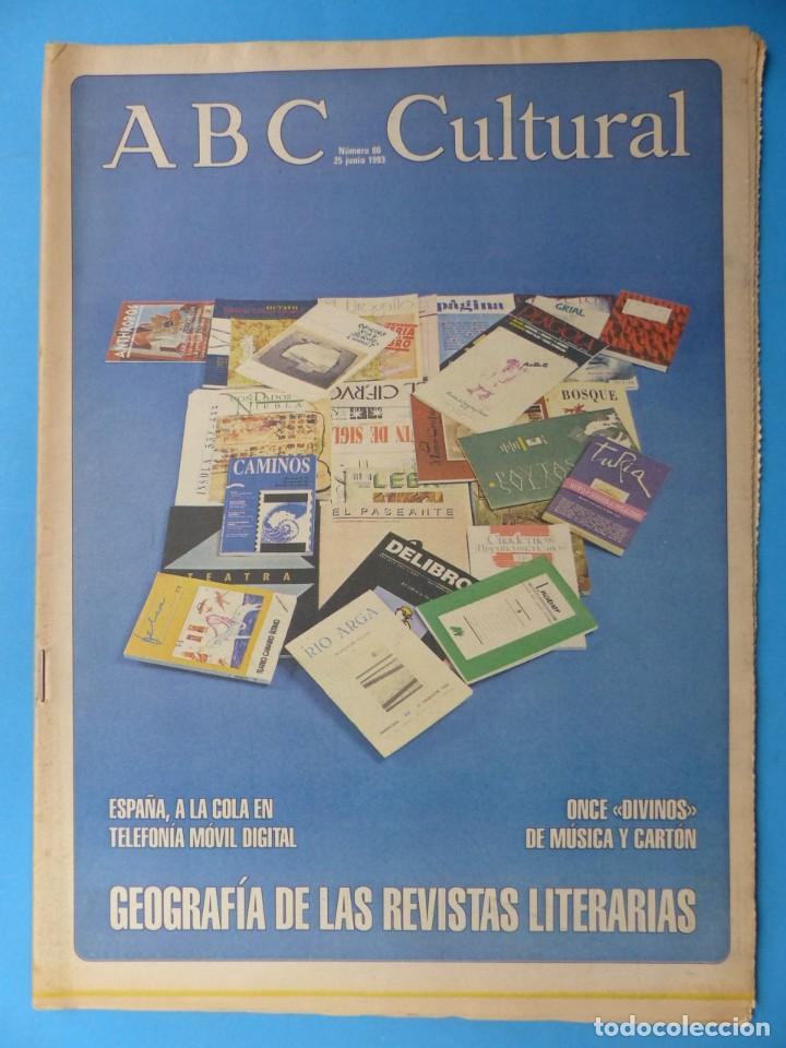 Coleccionismo de Los Domingos de ABC: ABC CULTURAL, 10 ANTIGUAS REVISTAS, AÑOS 1990 - VER FOTOS ADICIONALES - Foto 10 - 187611143