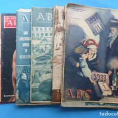 Coleccionismo de Los Domingos de ABC: ABC, 13 ANTIGUAS REVISTAS, AÑOS 1930-1950-1960-1980 - VER FOTOS ADICIONALES. Lote 187611810