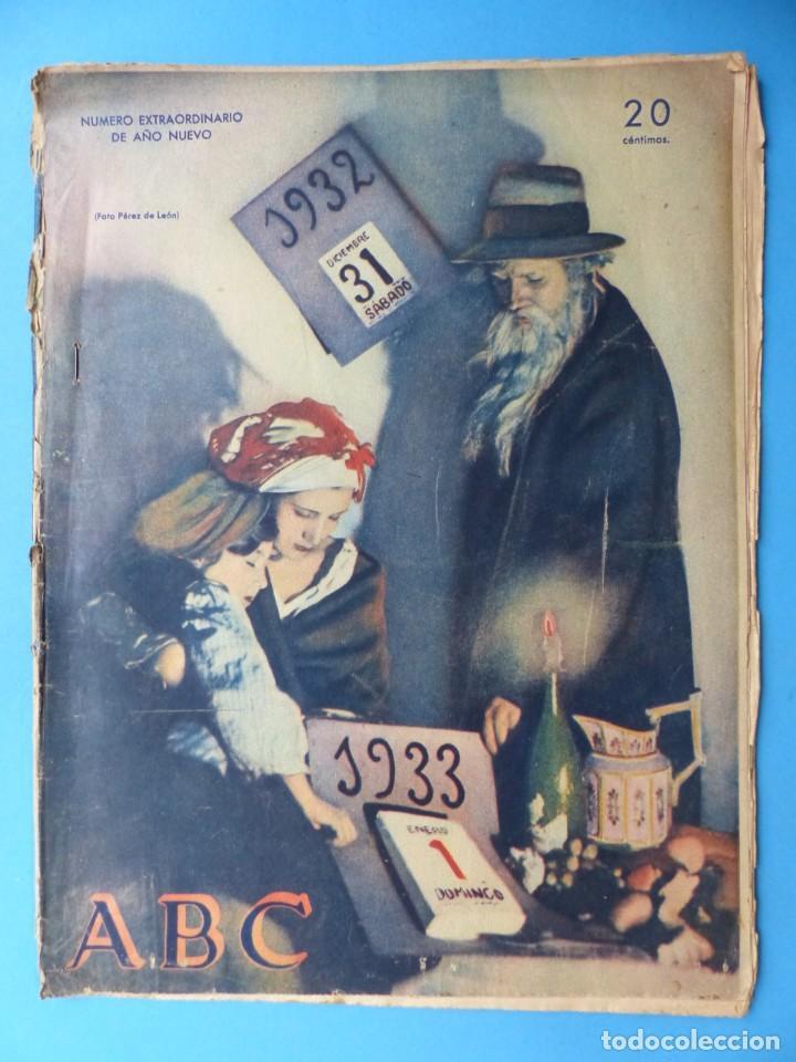 Coleccionismo de Los Domingos de ABC: ABC, 13 ANTIGUAS REVISTAS, AÑOS 1930-1950-1960-1980 - VER FOTOS ADICIONALES - Foto 2 - 187611810