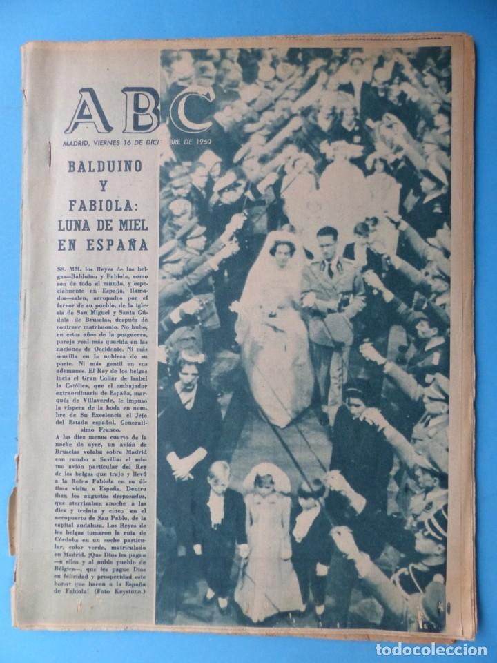 Coleccionismo de Los Domingos de ABC: ABC, 13 ANTIGUAS REVISTAS, AÑOS 1930-1950-1960-1980 - VER FOTOS ADICIONALES - Foto 3 - 187611810