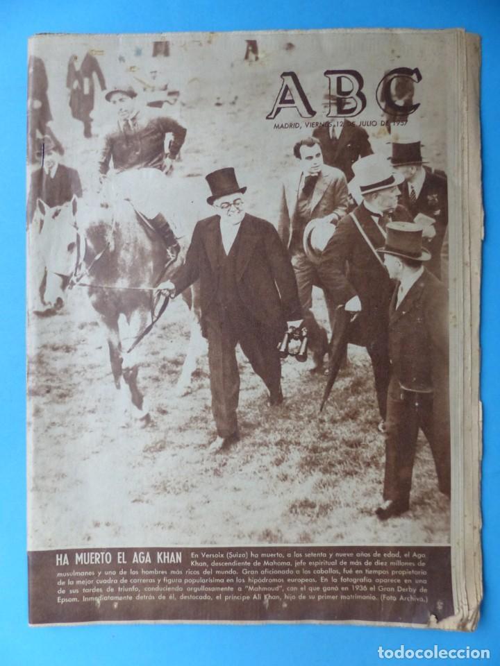 Coleccionismo de Los Domingos de ABC: ABC, 13 ANTIGUAS REVISTAS, AÑOS 1930-1950-1960-1980 - VER FOTOS ADICIONALES - Foto 4 - 187611810