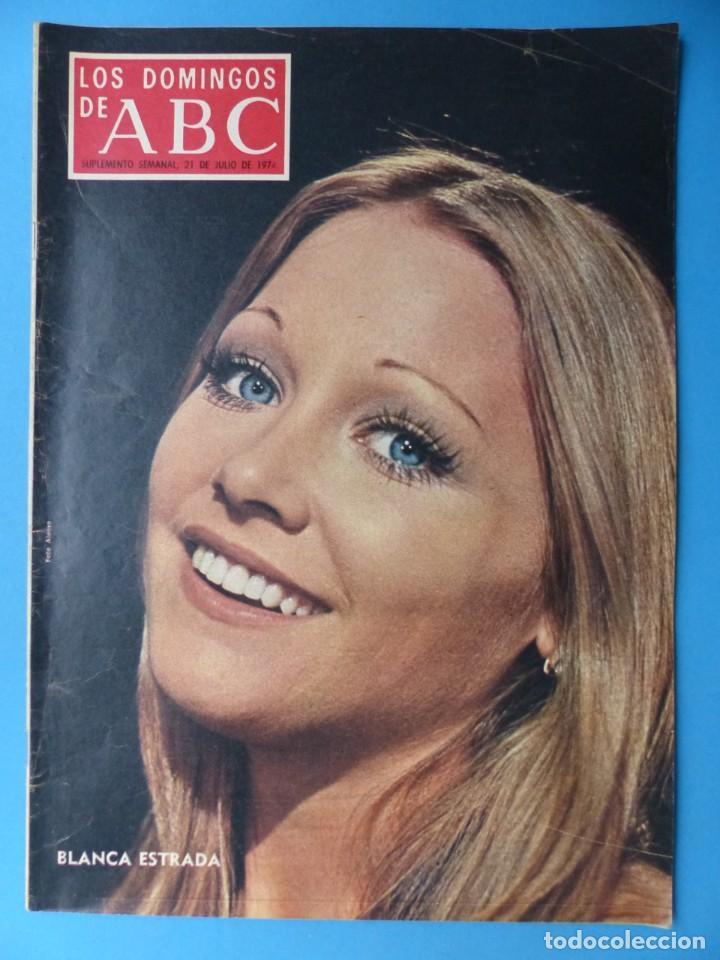 Coleccionismo de Los Domingos de ABC: ABC, 13 ANTIGUAS REVISTAS, AÑOS 1930-1950-1960-1980 - VER FOTOS ADICIONALES - Foto 10 - 187611810