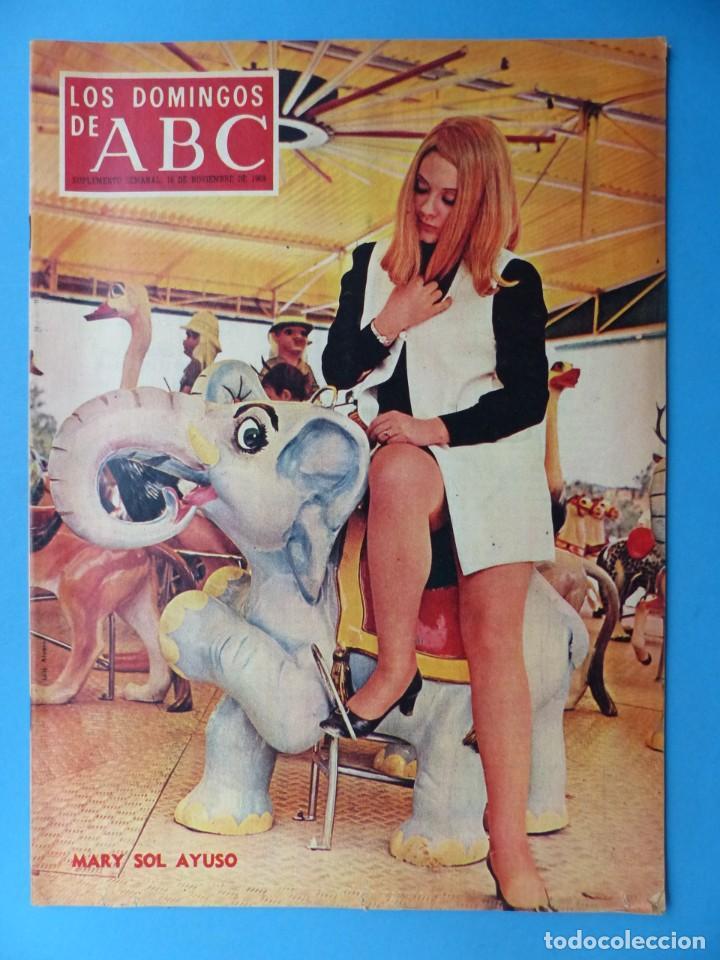 Coleccionismo de Los Domingos de ABC: ABC, 13 ANTIGUAS REVISTAS, AÑOS 1930-1950-1960-1980 - VER FOTOS ADICIONALES - Foto 11 - 187611810