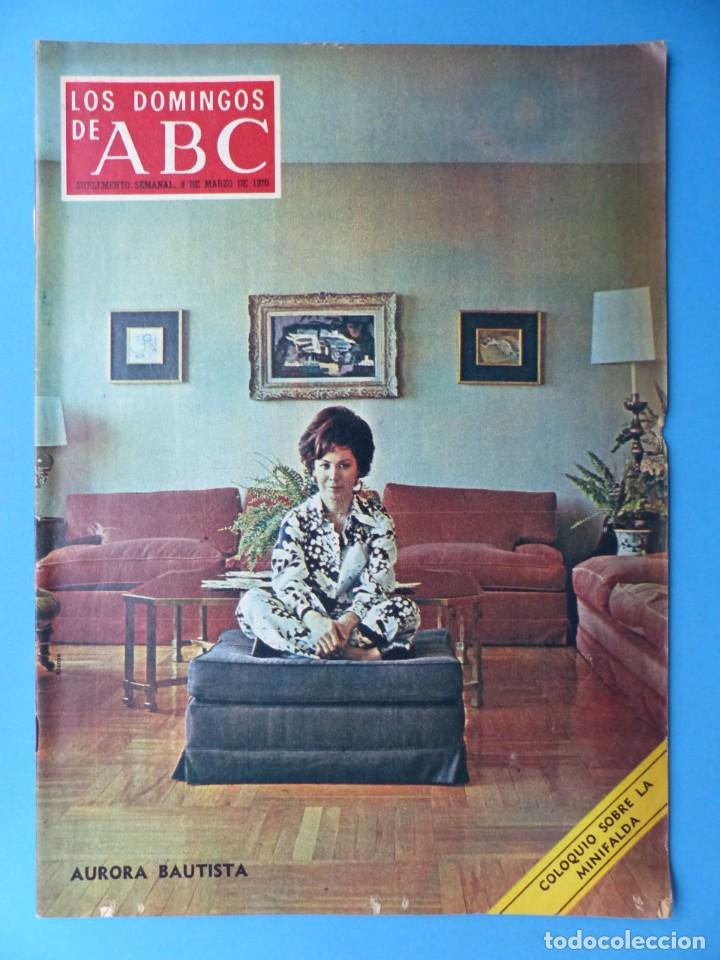 Coleccionismo de Los Domingos de ABC: ABC, 13 ANTIGUAS REVISTAS, AÑOS 1930-1950-1960-1980 - VER FOTOS ADICIONALES - Foto 13 - 187611810