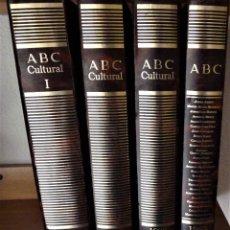 Coleccionismo de Los Domingos de ABC: ABC CULTURAL ( 3 TOMOS: AÑO 1992 ) - DESDE EL Nº1 AL 61 + PERIOLIBRO (1 TOMO: AÑOS 1992/1993/1994). Lote 189362281