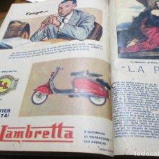 Collectionnisme de Los Domingos de ABC: LOS DOMINGOS DE ABC 1º TRIMESTRE 1958, LAMBRETTA, MOBILETTE, IBIZA, ATAULFO ARGENTA, MOTO GUZZI. Lote 189423348