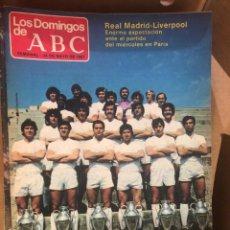 Coleccionismo de Los Domingos de ABC: DOMINGOS ABC 1981 LOTE 51 REVISTAS. Lote 189498441