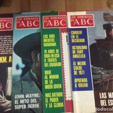 Coleccionismo de Los Domingos de ABC: DOMINGOS ABC 1978 LOTE 51 REVISTAS. Lote 189503200