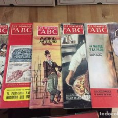 Coleccionismo de Los Domingos de ABC: DOMINGOS ABC 1975 LOTE 33 REVISTAS. Lote 189506298