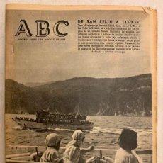 Coleccionismo de Los Domingos de ABC: PERIODICO ABC LUNES 7 AGOSTO 1967. Lote 190153022