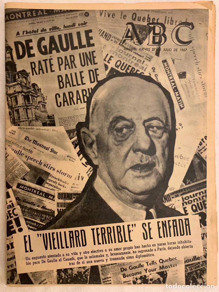 PERIODICO ABC 27 JULIO 1967 (Coleccionismo - Revistas y Periódicos Modernos (a partir de 1.940) - Los Domingos de ABC)