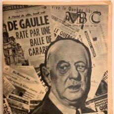 Coleccionismo de Los Domingos de ABC: PERIODICO ABC 27 JULIO 1967. Lote 190153328