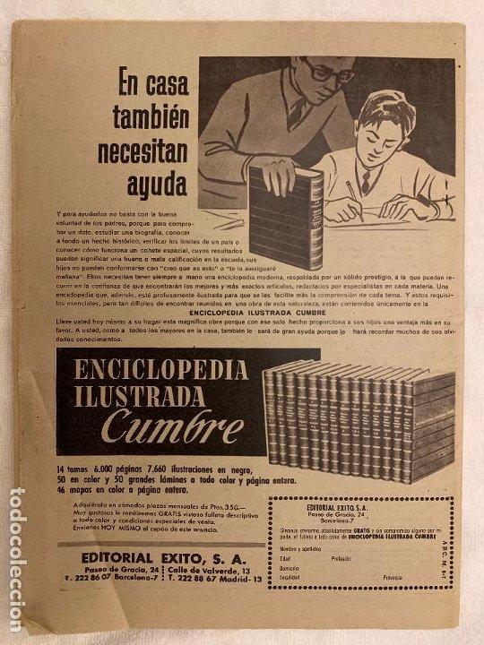 Coleccionismo de Los Domingos de ABC: PERIODICO ABC 8 JULIO 1965 - Foto 2 - 190155066