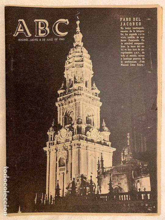 PERIODICO ABC 8 JULIO 1965 (Coleccionismo - Revistas y Periódicos Modernos (a partir de 1.940) - Los Domingos de ABC)