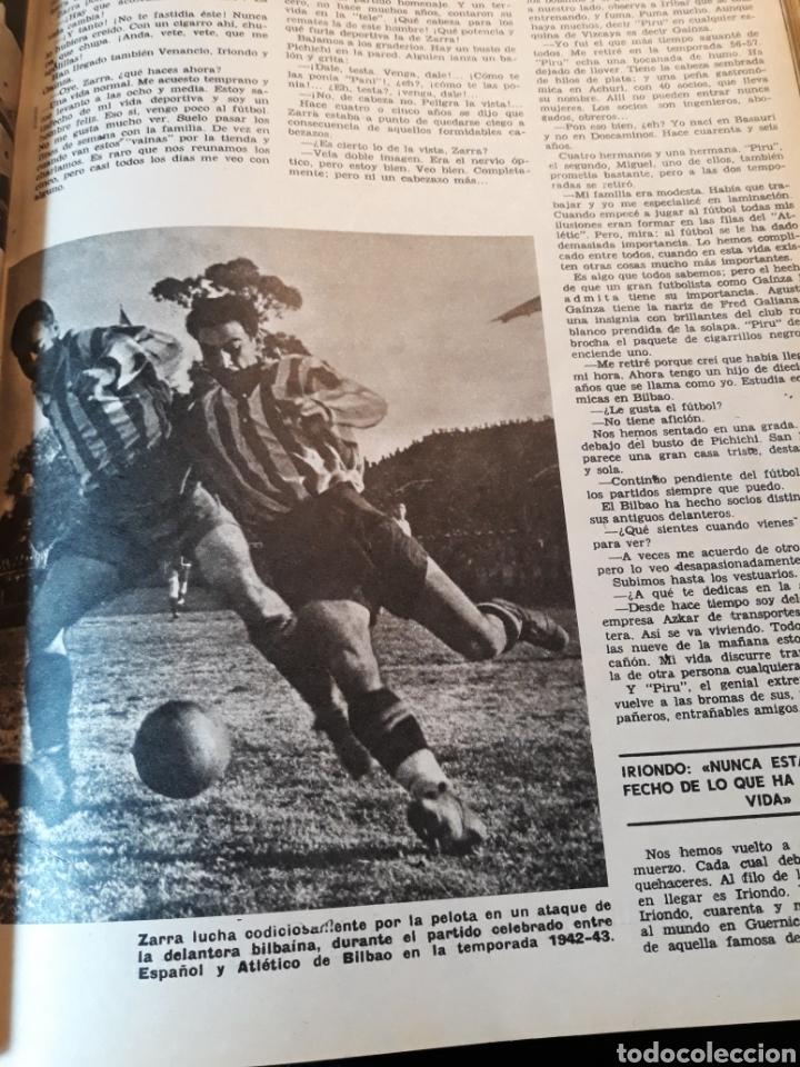 Coleccionismo de Los Domingos de ABC: LA DELANTERA DE FUEGO DEL ATHLETIC DE BILBAO. 7 PAGINAS AÑO 1969 - Foto 3 - 191013366