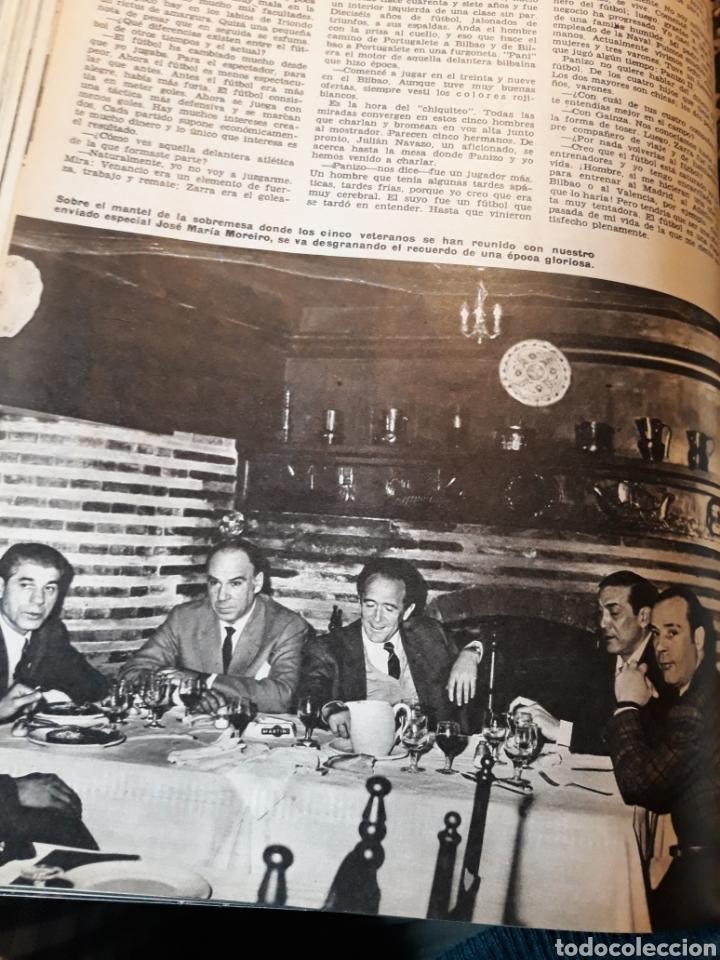 Coleccionismo de Los Domingos de ABC: LA DELANTERA DE FUEGO DEL ATHLETIC DE BILBAO. 7 PAGINAS AÑO 1969 - Foto 4 - 191013366
