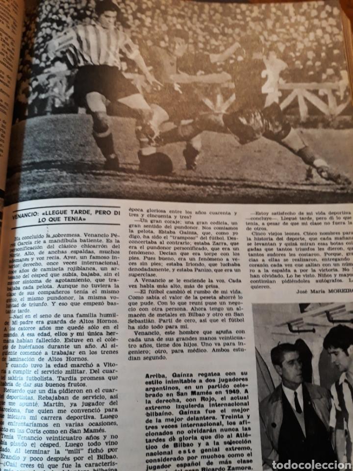 Coleccionismo de Los Domingos de ABC: LA DELANTERA DE FUEGO DEL ATHLETIC DE BILBAO. 7 PAGINAS AÑO 1969 - Foto 5 - 191013366