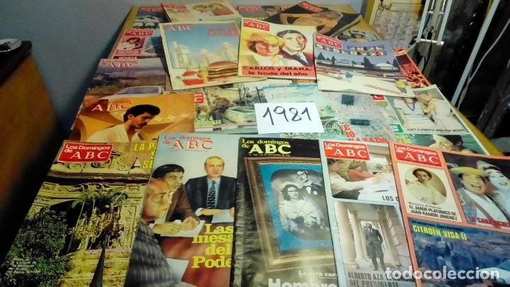 356 EJEMPLARES -VER DETALLE AÑOS- (Coleccionismo - Revistas y Periódicos Modernos (a partir de 1.940) - Los Domingos de ABC)
