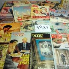 Coleccionismo de Los Domingos de ABC: 356 EJEMPLARES -VER DETALLE AÑOS-. Lote 191154892