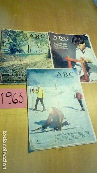 Coleccionismo de Los Domingos de ABC: 356 ejemplares -ver detalle años- - Foto 2 - 191154892