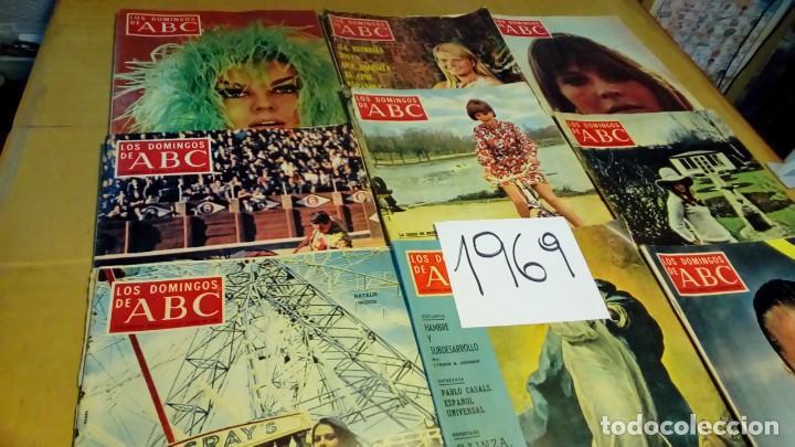 Coleccionismo de Los Domingos de ABC: 356 ejemplares -ver detalle años- - Foto 5 - 191154892
