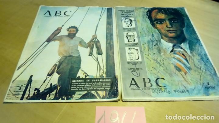 Coleccionismo de Los Domingos de ABC: 356 ejemplares -ver detalle años- - Foto 6 - 191154892