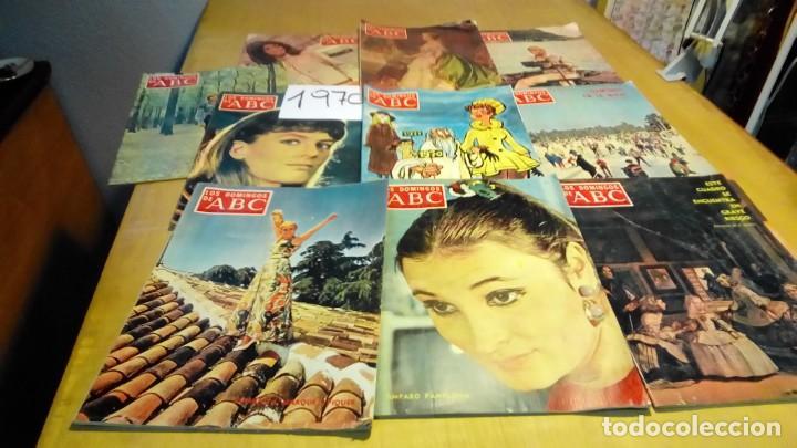 Coleccionismo de Los Domingos de ABC: 356 ejemplares -ver detalle años- - Foto 7 - 191154892