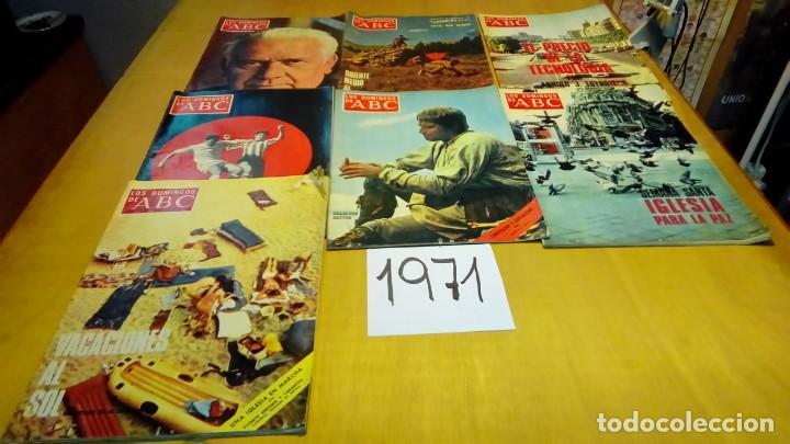 Coleccionismo de Los Domingos de ABC: 356 ejemplares -ver detalle años- - Foto 8 - 191154892
