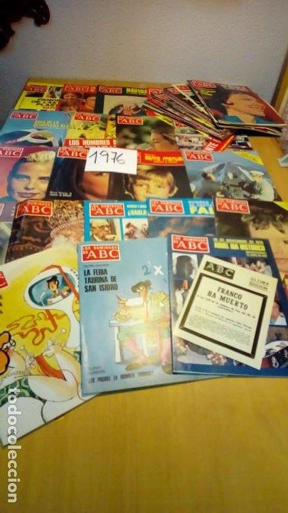 Coleccionismo de Los Domingos de ABC: 356 ejemplares -ver detalle años- - Foto 12 - 191154892