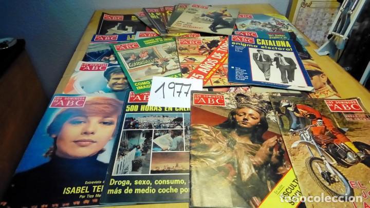 Coleccionismo de Los Domingos de ABC: 356 ejemplares -ver detalle años- - Foto 13 - 191154892