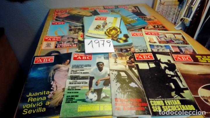 Coleccionismo de Los Domingos de ABC: 356 ejemplares -ver detalle años- - Foto 15 - 191154892