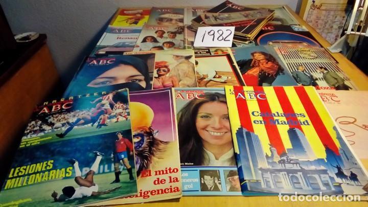 Coleccionismo de Los Domingos de ABC: 356 ejemplares -ver detalle años- - Foto 17 - 191154892