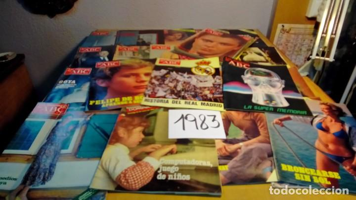 Coleccionismo de Los Domingos de ABC: 356 ejemplares -ver detalle años- - Foto 18 - 191154892
