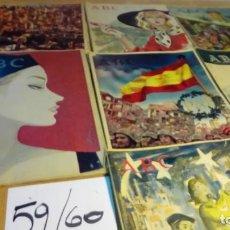 Coleccionismo de Los Domingos de ABC: 7 EJEMPLARES AÑOS 59 Y 60. Lote 191165708