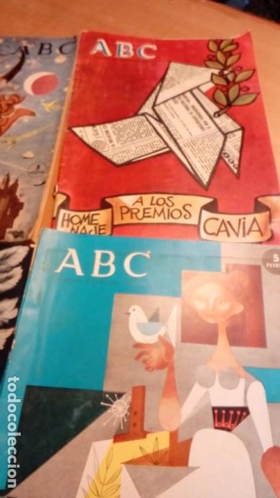 SUPLEMENTOS EXTRAORDINAROS ABC -4 EJEMP. (Coleccionismo - Revistas y Periódicos Modernos (a partir de 1.940) - Los Domingos de ABC)