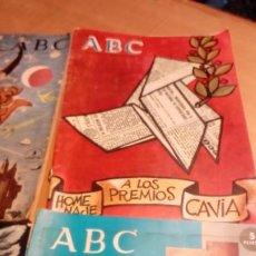Coleccionismo de Los Domingos de ABC: SUPLEMENTOS EXTRAORDINAROS ABC -4 EJEMP.. Lote 191166900