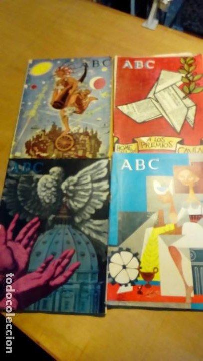 Coleccionismo de Los Domingos de ABC: suplementos extraordinaros ABC -4 ejemp. - Foto 2 - 191166900