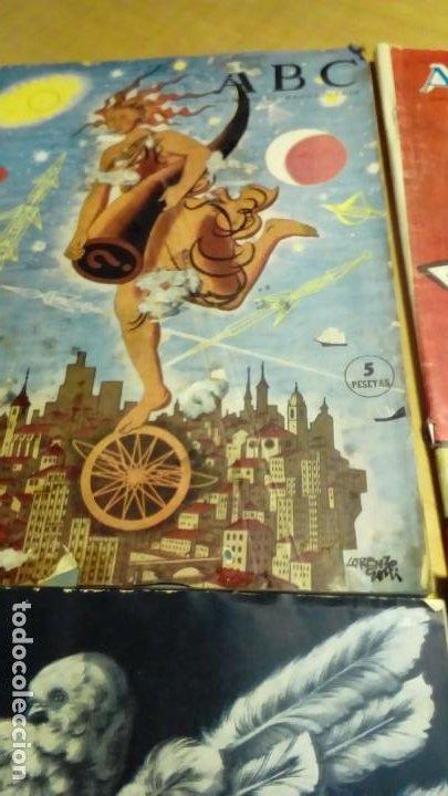 Coleccionismo de Los Domingos de ABC: suplementos extraordinaros ABC -4 ejemp. - Foto 3 - 191166900