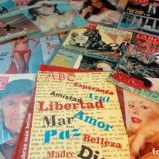 Coleccionismo de Los Domingos de ABC: ABC 10 EJEMPLARES. Lote 191205335