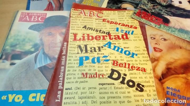 Coleccionismo de Los Domingos de ABC: ABC 10 EJEMPLARES - Foto 3 - 191205335