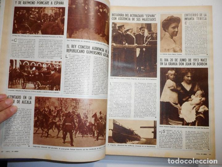 """Coleccionismo de Los Domingos de ABC: 70 Años de España a través de """"ABC"""" 1905-1975 Volumen 1º Y98122 - Foto 2 - 191788906"""