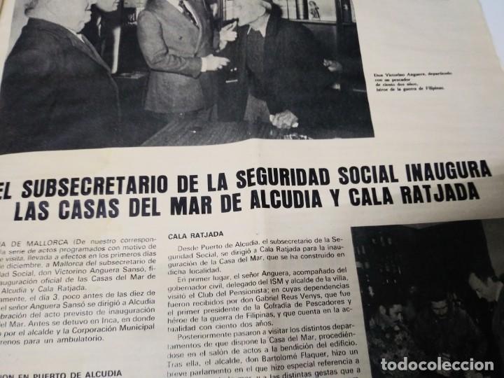 Coleccionismo de Los Domingos de ABC: Revista HOLA DEL MAR N° 135 año 1976 INSTTUTO SOCIAL DE LA MARINA - Foto 8 - 192195128