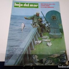 Coleccionismo de Los Domingos de ABC: REVISTA HOLA DEL MAR N° 142 AÑO 1977 INSTTUTO SOCIAL MARINA PALANGRE EN GALICIA ANCHOA CANTABRICO . Lote 192195522