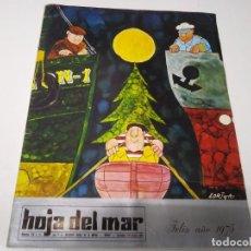 Coleccionismo de Los Domingos de ABC: REVISTA HOLA DEL MAR N° 110 Y 111 AÑO 1975 INSTTUTO SOCIAL MARINA PUERTO DE MÁLAGA GREGORIO PRIETO . Lote 192195786