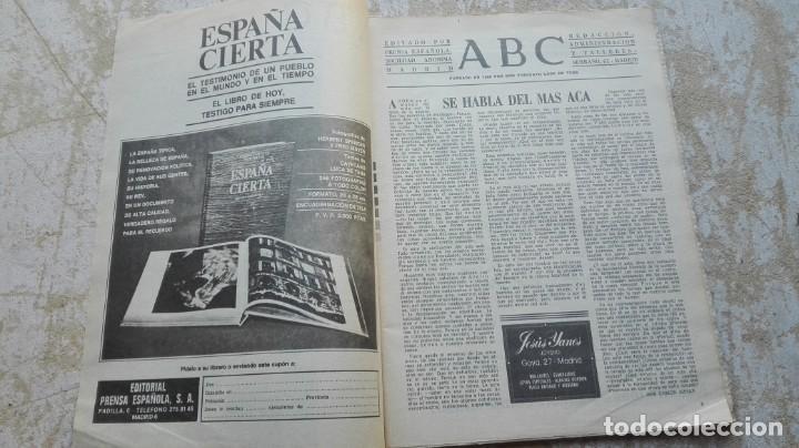 Coleccionismo de Los Domingos de ABC: Periódico ABC Madrid domingo 26 de marzo de 1978 bajo el sol de Roma - Foto 2 - 192876392