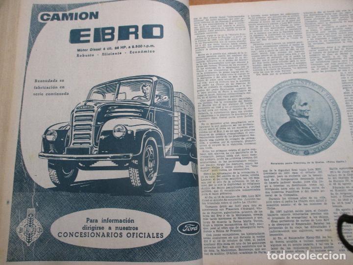 Coleccionismo de Los Domingos de ABC: Los domingos de ABC 4º trimestre 1960 Cine, Balduino y Fabiola Lleida Ortiz Echagüe camión Ebro - Foto 8 - 194130936