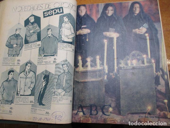 Coleccionismo de Los Domingos de ABC: Los domingos de ABC 4º trimestre 1960 Cine, Balduino y Fabiola Lleida Ortiz Echagüe camión Ebro - Foto 10 - 194130936