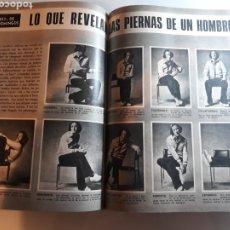 Coleccionismo de Los Domingos de ABC: LO QUE REVELAN LAS PIERNAS DE UN HOMBRE . AÑO 1973 . DOS PAGINAS. Lote 194164351