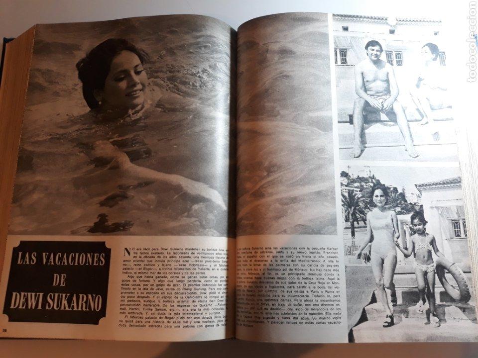 LAS VACACIONES DE DEWI SUKARNO , CON FRANCISCO PAESA. AÑO 1973 . DOS PAGINAS (Coleccionismo - Revistas y Periódicos Modernos (a partir de 1.940) - Los Domingos de ABC)