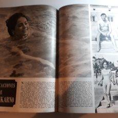Coleccionismo de Los Domingos de ABC: LAS VACACIONES DE DEWI SUKARNO , CON FRANCISCO PAESA. AÑO 1973 . DOS PAGINAS. Lote 194164718